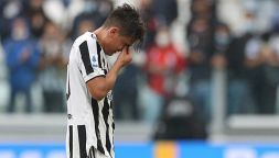 Juve-Sampdoria, inconsolabile Paulo Dybala: esce in lacrime