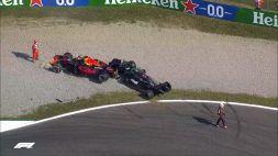 F1 Gp Italia: scontro Hamilton e Verstappen! Red Bull sulla Mercedes