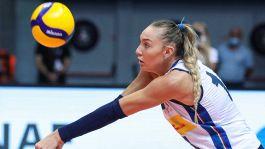 Volley, infortunio per Elena Pietrini