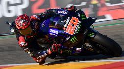 MotoGP, qualifiche Aragon: Quartararo stupito da Bagnaia