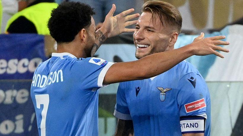 Lazio-Roma 3-2: l'Aquila vola all'Olimpico, le pagelle