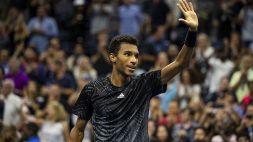 US Open: Auger-Aliassime avverte Medvedev