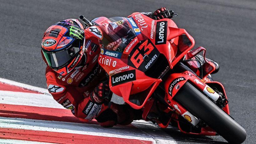 """MotoGP, Bagnaia: """"Funziona tutto in modo perfetto"""""""