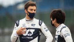 F1: AlphaTauri conferma Gasly e Tsunoda per il 2022