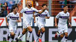 Fiorentina: terzo successo consecutivo, decidono Saponara e Bonaventura