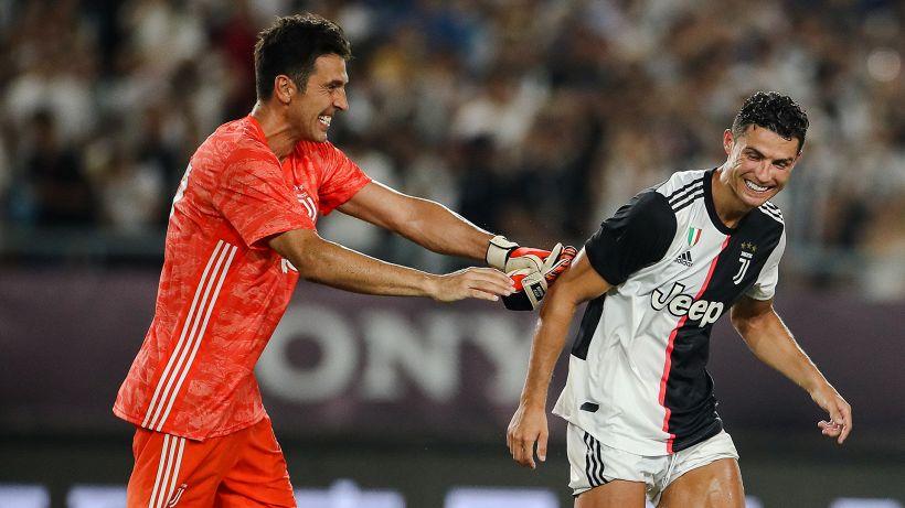 """Buffon: """"CR7-Juve? Nulla di illogico nella sua scelta"""""""
