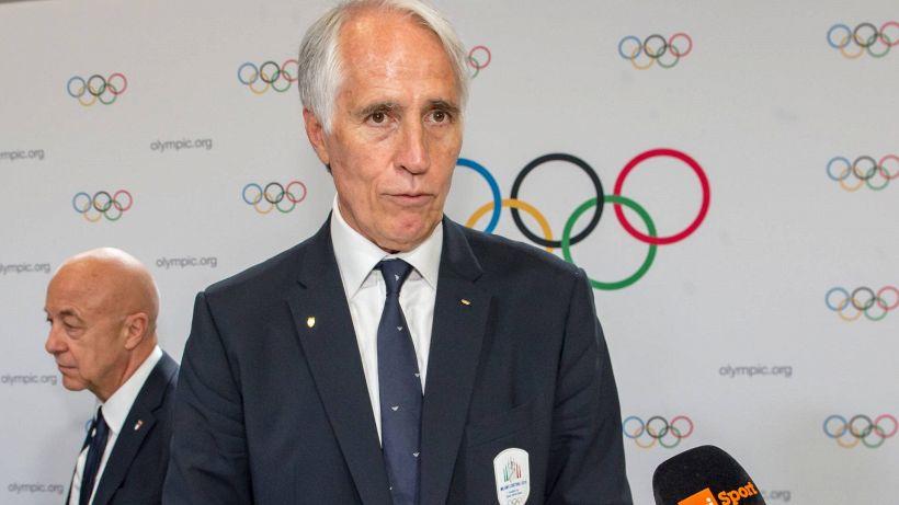 """Malagò: """"Ok a capienza negli stadi, ma devo tutelare basket e volley"""""""