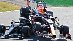F1, che botto Hamilton-Verstappen; disastro a Monza: le reazioni
