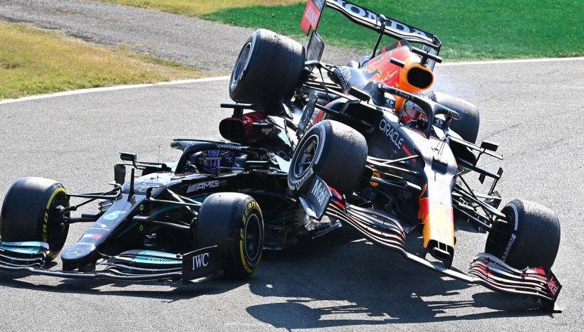 F1, scontro Hamilton-Verstappen a Monza: Horner riaccende la polemica