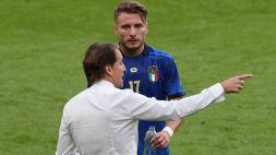 Italia, Roberto Mancini sbotta su Immobile e tira in ballo Balotelli