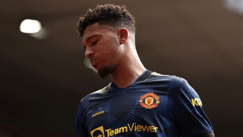 Sancho-Manchester United, falsa partenza: solo 2 tiri in 6 partite
