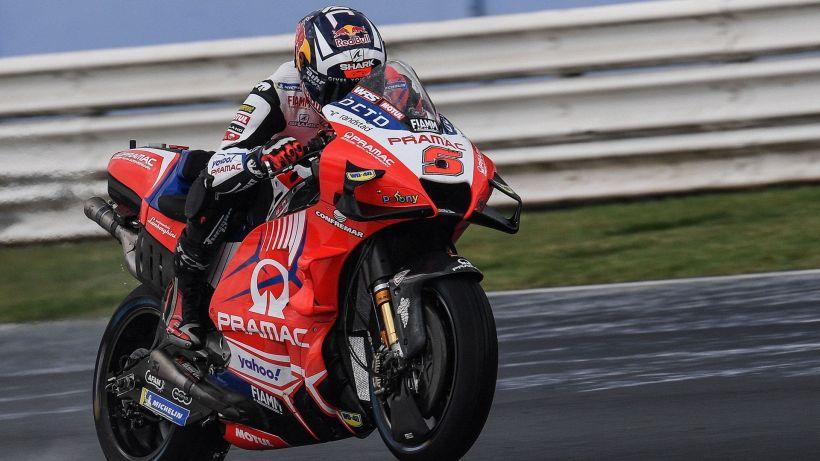 MotoGP, seconde libere Misano: dominio Ducati sul bagnato