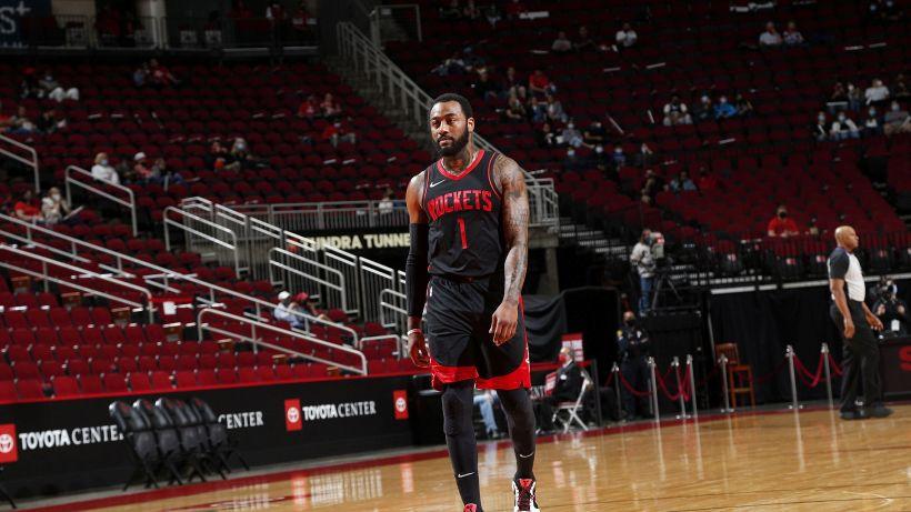 NBA, già finita la storia d'amore tra Wall e i Rockets