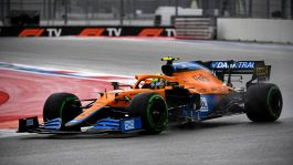 F1, GP Sochi: capolavoro McLaren, Norris in pole. Ferrari 2ª con Sainz