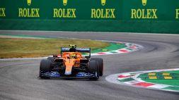 F1, qualifiche GP d'Italia: Lando Norris e Daniel Ricciardo soddisfatti