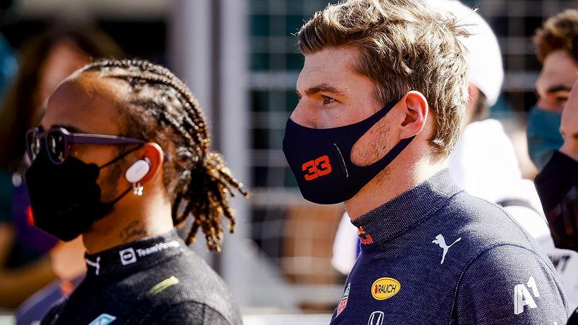 F1: Lewis Hamilton-Max Verstappen, scintille in conferenza stampa