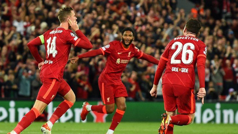 Champions: il Milan lotta ma cade a Liverpool, Inter beffata dal Real