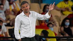 """Spagna, Luis Enrique: """"I tifosi ci diano una mano"""""""