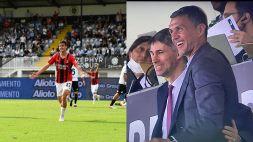 Milan: Maldini, un nome una garanzia. Gol di Daniel, gioia Paolo