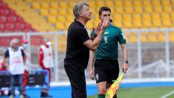 """Lecce, Baroni: """"A Benevento gara a viso aperto"""""""