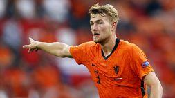 """De Ligt, niente posto fisso nell'Olanda: """"De Vrij è un campione"""""""