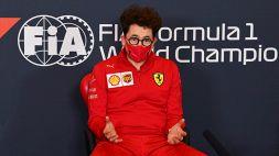 """F1, Binotto: """"Abbiamo 20 cavalli in meno rispetto al motore Mercedes"""""""