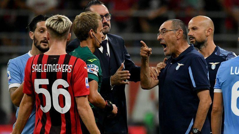 Lazio, Sarri contro Chiffi: potrebbe portarlo in tribunale