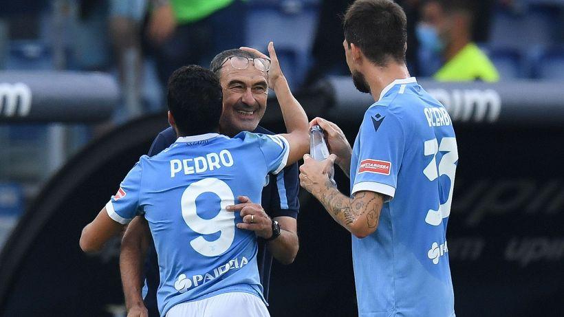 """Lazio-Roma, Sarri: """"Sorpreso dalle emozioni del derby, Felipe Andreson crack"""""""