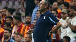 """Lazio, Sarri tranquillo: """"Non mi sento in difficoltà"""""""