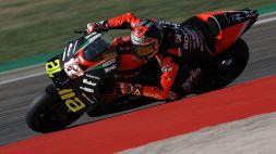 MotoGP, Misano: l'Aprilia di Vinales davanti nelle prime libere