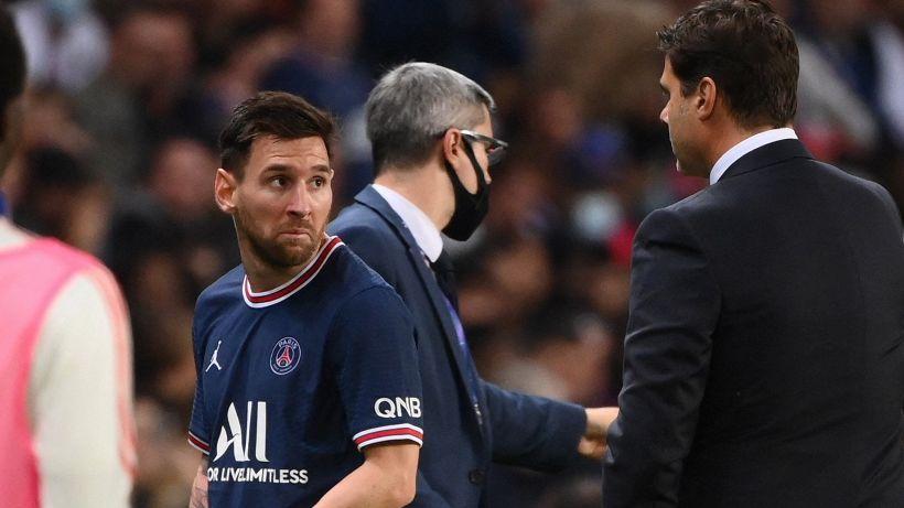 Psg, Messi si infuria per il cambio