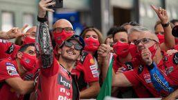 MotoGP: Trionfo di Bagnaia a Misano, le foto