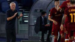 "Roma-CSKA Sofia, Mourinho felice a metà: ""Poca intensità e spinta"""