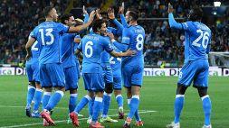 Udinese-Napoli 0-4: poker azzurro, le pagelle