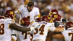 NFL, prima gioia per Washington grazie a Gano