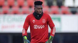 """Ajax, il DS Marc Overmars: """"Onana non rinnoverà"""""""