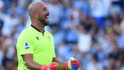 """Lazio, Pepe Reina: """"Con Sarri è una squadra diversa"""""""
