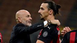 Milan, Ibrahimovic è pronto: la strategia di Pioli per il suo rientro