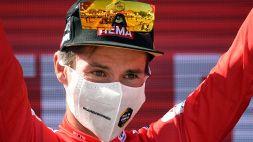 """Vuelta di Spagna, Roglic: """"Pazzesco che questa sia la mia 50° maglia da leader in un GT"""""""