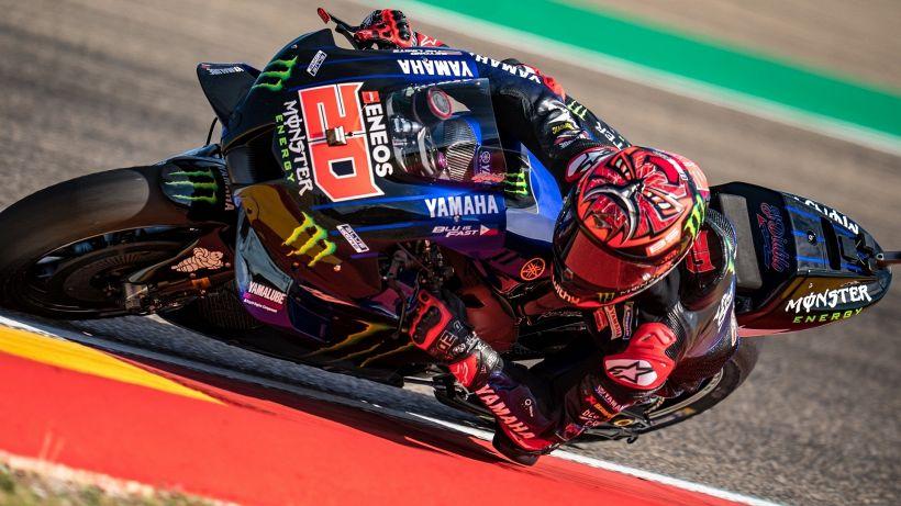 MotoGp: Quartararo davanti. Marquez ancora ko, Valentino Rossi in Q1