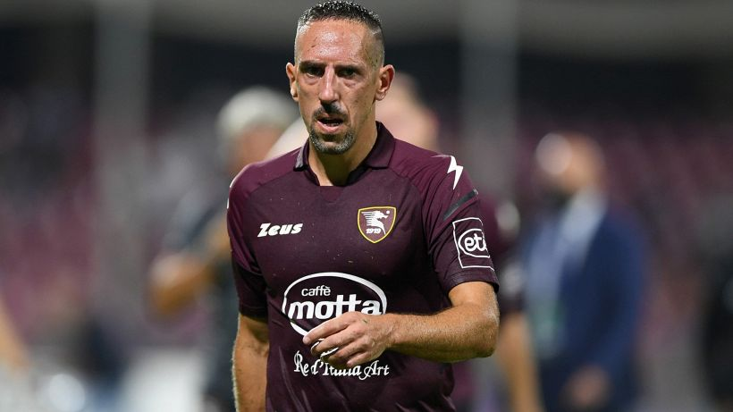 """Salernitana, Ribery out. Castori: """"Fuori per un affaticamento"""""""