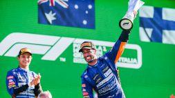 """F1, l'""""azzurro"""" Ricciardo: """"Speravo nella Ferrari, ma ha vinto un italiano"""""""