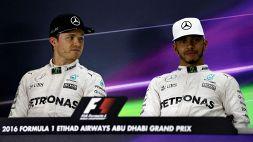 F1, Rosberg punge Hamilton dopo il messaggio a Bottas
