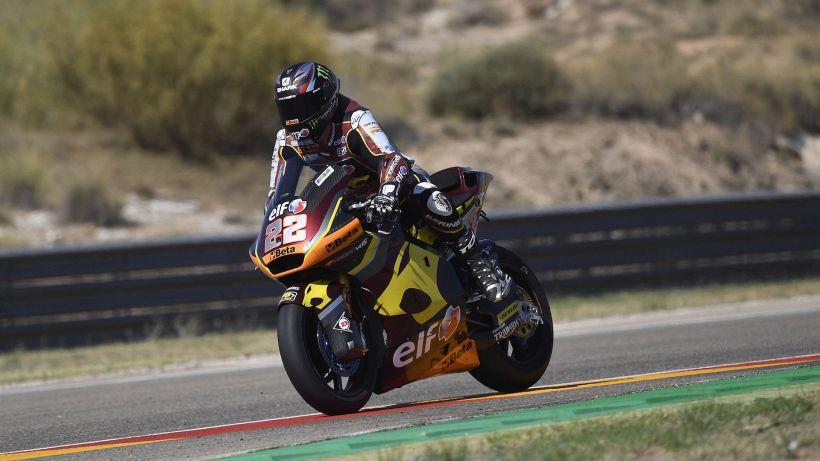 GP d'Aragona Moto2, Sam Lowes in pole