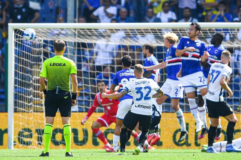 """Inter, stavolta a lamentarsi sono i blucerchiati: """"L'ha fatto apposta"""""""