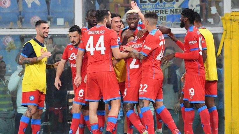 Sampdoria-Napoli 0-4: doppio Osimhen, le pagelle