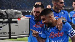 Serie A 2021/2022: Napoli-cagliari 2-0, le foto
