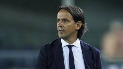 Inter-Bologna, i convocati di Simone Inzaghi