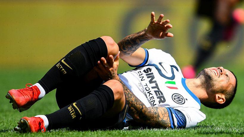 L'Inter perde di nuovo Sensi: l'esito degli esami strumentali