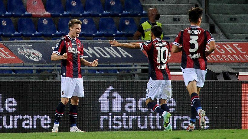 Bologna-Verona 1-0: decide Svanberg, rossoblu imbattuti